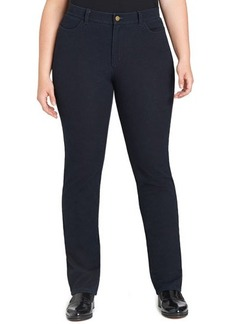 Lafayette 148 New York Curvy Bi-Stretch Slim-Leg Jeans