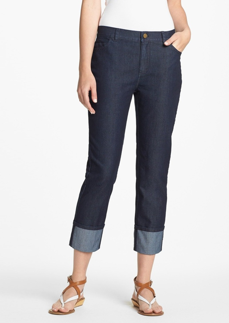 Lafayette 148 New York Curvy Fit Crop Jeans