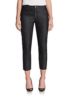 Lafayette 148 New York Curvy-Slim Cropped Jeans