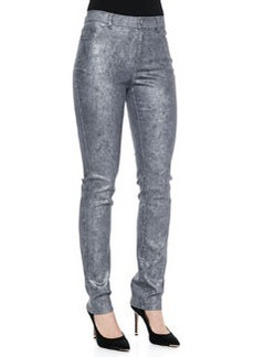 Lafayette 148 New York Curvy Slim-Leg Denim Jeans