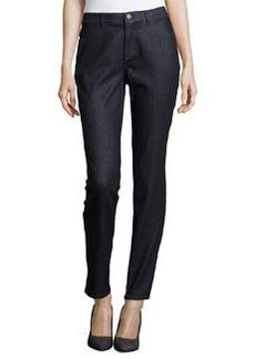 Lafayette 148 New York Curvy Slim Leg Jeans, Indigo Met