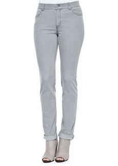 Lafayette 148 New York Curvy Slim-Leg Jeans, Rain Drop