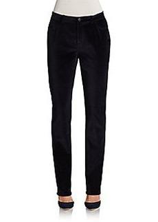 Lafayette 148 New York Curvy Slim-Leg Pants
