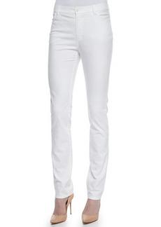 Lafayette 148 New York Curvy Slim-Leg Print Jeans