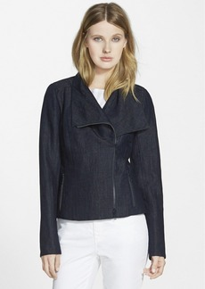 Lafayette 148 New York 'Cyrilla' Linen Denim Jacket