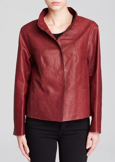 Lafayette 148 New York Darra Leather Jacket