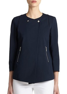 Lafayette 148 New York Dayle Zipper Jacket