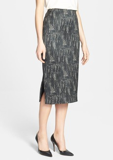 Lafayette 148 New York 'Dayna - Nocturnal Etching' Skirt