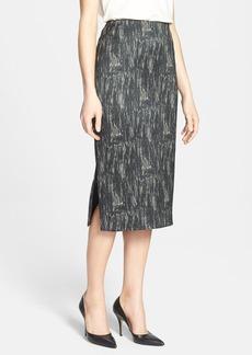 Lafayette 148 New York 'Dayna - Nocturnal Etching' Skirt