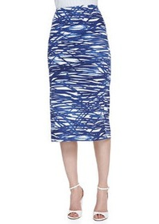 Lafayette 148 New York Dayna River Ripples Pencil Skirt