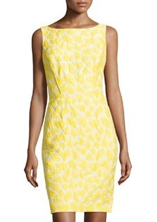 Lafayette 148 New York Deana Spotted Sleeveless Dress, Sunshine