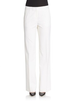Lafayette 148 New York Delancey Stretch Wool Pants