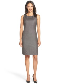 Lafayette 148 New York 'Delia' Suiting Sheath Dress