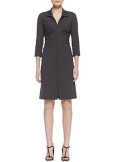 Lafayette 148 New York Denielle 3/4-Sleeve Dress