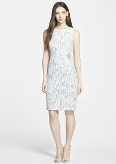 Lafayette 148 New York 'Dixie' Jacquard Sheath Dress (Regular & Petite)