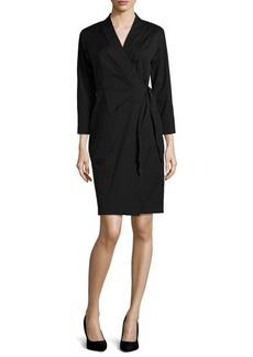Lafayette 148 New York Dolly Three-Quarter-Sleeve Dress  Dolly Three-Quarter-Sleeve Dress