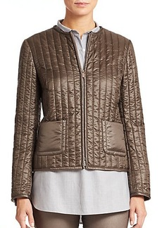 Lafayette 148 New York Donelle Frosted Nylon Jacket