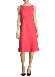 Lafayette 148 New York Dora Linen Sleeveless Dress