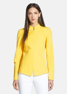 Lafayette 148 New York 'Doris - Marcella Cloth' Stand Collar Jacket