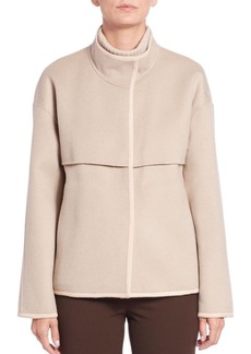 Lafayette 148 New York Double-Face Wool/Cashmere Jacket
