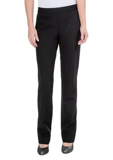 Lafayette 148 New York Double-Knit Pull-On Pants - Straight Leg (For Women)