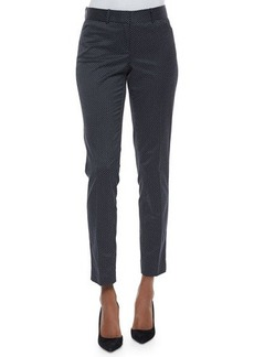 Lafayette 148 New York Downtown Dot Pants W/ Side Piping  Downtown Dot Pants W/ Side Piping