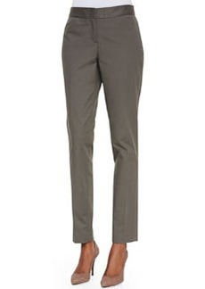 Lafayette 148 New York Downtown Straight-Leg Pants, Cremini