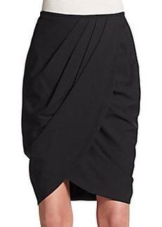 Lafayette 148 New York Draped Tulip Skirt