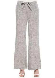 Lafayette 148 New York Drawstring Linen Pants
