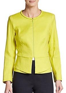 Lafayette 148 New York Ellery Linen-Blend Jacket