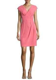 Lafayette 148 New York Elsa Faux-Wrap Dress