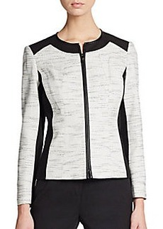 Lafayette 148 New York Essa Colorblock Jacket