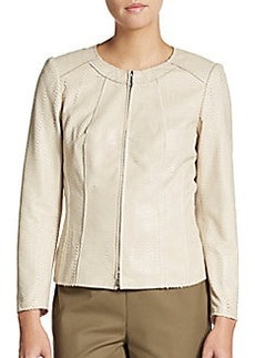 Lafayette 148 New York Essa Leather Jacket