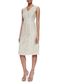Lafayette 148 New York Essie Sleeveless Lace Dress