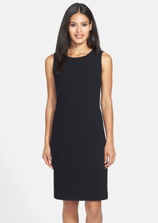 Lafayette 148 New York 'Ester' Wool Crepe Dress