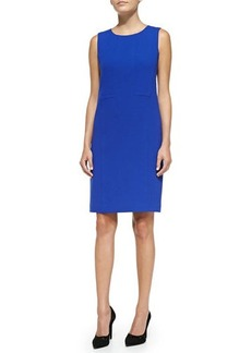Lafayette 148 New York Esther Sleeveless Seamed Shift Dress