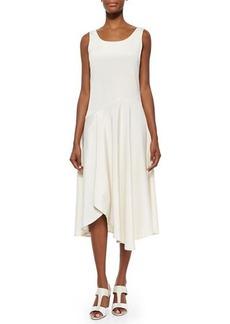 Lafayette 148 New York Evalyn Sleeveless Bias Dress