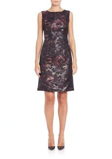Lafayette 148 New York Evelyn Floral-Print Dress