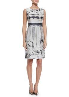 Lafayette 148 New York Evelyn Sleeveless Printed Dress  Evelyn Sleeveless Printed Dress