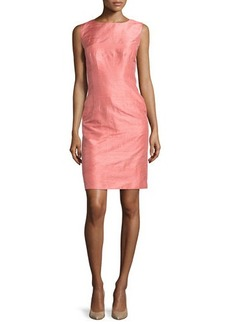 Lafayette 148 New York Evelyn Sleeveless Silk Sheath Dress