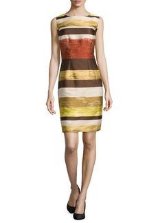 Lafayette 148 New York Evelyn Striped Sheath Dress