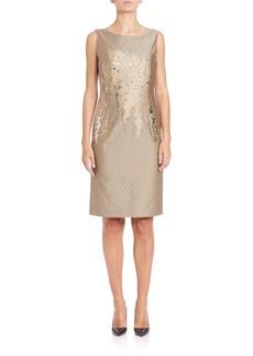 Lafayette 148 New York Faith Floral-Detail Dress