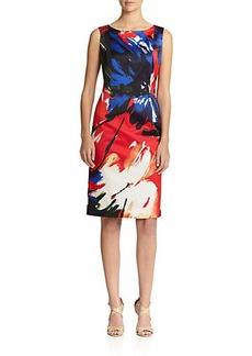 Lafayette 148 New York Faith Floral-Print Shift Dress