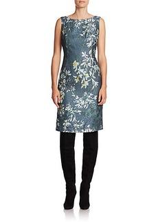 Lafayette 148 New York Faith Floral Silk-Blend Dress