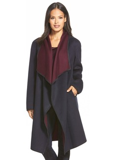 Lafayette 148 New York 'Felice' Reversible Wool & Cashmere Long Coat