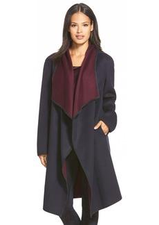 Lafayette 148 New York 'Felice' Reversible Wool & CashmereLong Coat