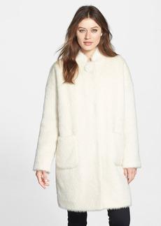 Lafayette 148 New York 'Felicia' Wool & Alpaca Coat