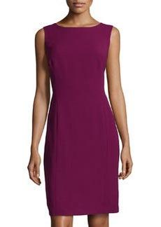Lafayette 148 New York Finesse Jersey Dress, Loganberry