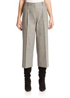 Lafayette 148 New York Finite Flannel Cropped Pants