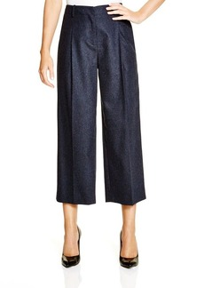 Lafayette 148 New York Flannel Gaucho Pants - Bloomingdale's Exclusive